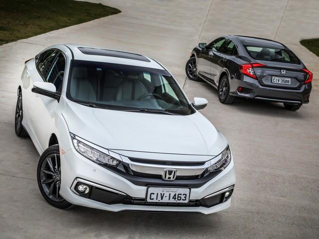 Honda Civic 2020 ganha visual retocado, perde câmbio manual e parte de R$ 97.900