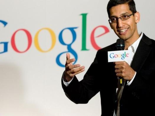 Sundar Pichai, CEO do Google, agora faz parte do conselho da Alphabet