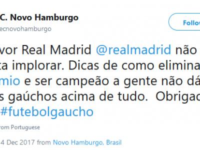 """Algoz do Grêmio no Gaúcho, Novo Hamburgo brinca e """"nega"""" dicas ao Real"""