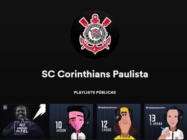 Corinthians fecha parceria e revela gostos musicais de estrelas do elenco; veja