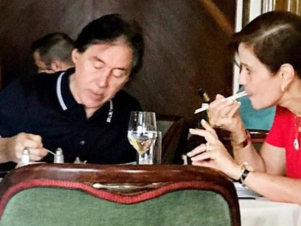 Flagra: Índio da Odebrecht almoça em luxuoso hotel de Lisboa