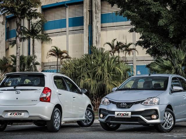 Mercado: Toyota Etios fica mais caro em setembro