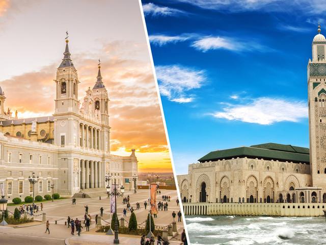Marrocos e Espanha! Passagens para Casablanca ou Marrakesh mais Madri na mesma viagem a partir de R$ 1.978!