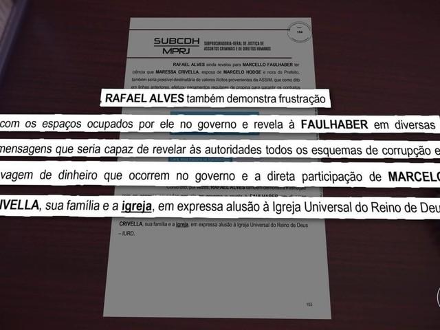 MP diz que Igreja Universal foi usada para lavar dinheiro de corrupção na Prefeitura do Rio