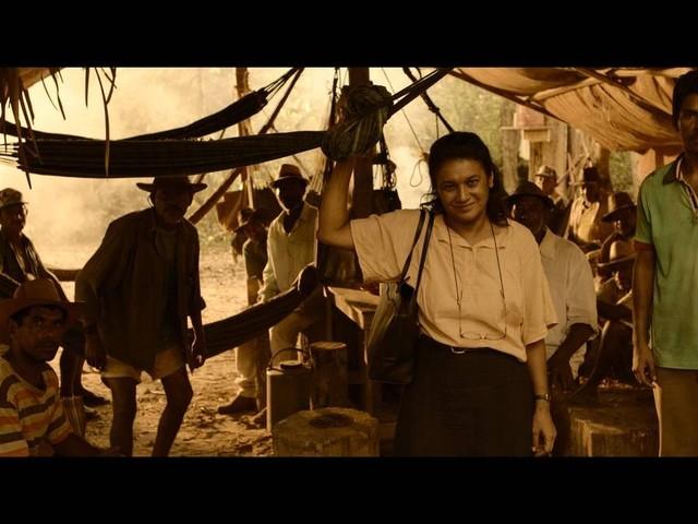 Dira Paes filma longa em que vive saga de mãe em busca do filho escravizado