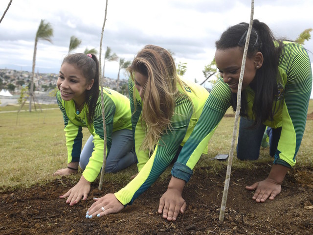 Comment on Rio Inaugurates Athletes' Forest at Parque Radical by Naomi Volain