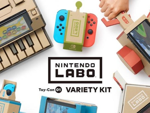 Nintendo pretende levar Labo para as escolas americanas ainda neste ano
