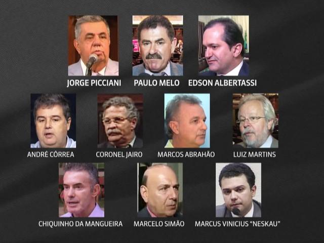 Conselho de Ética da Alerj discute cassação de deputados presos na Lava Jato