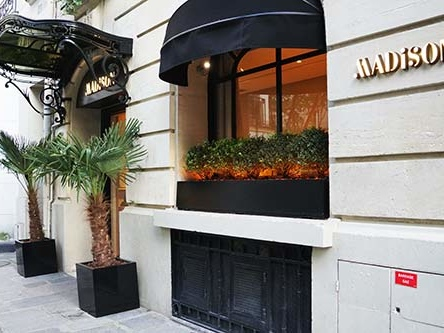 Hotel Madison em ponto nobre de Saint Germain