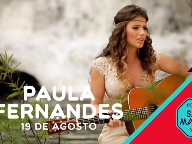 Paula Fernandes em Viseu