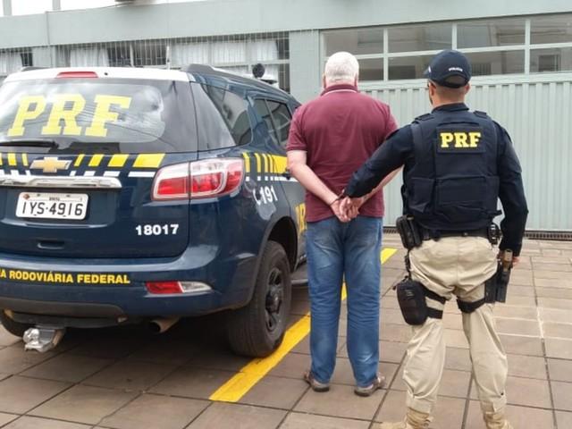 Motorista com carteira de habilitação cassada é preso pela quarta vez por dirigir embriagado em Vacaria