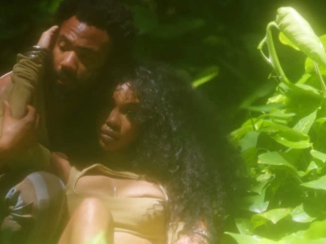 """SZA e Donald Glover são o casal mais lindo da floresta em """"Garden"""""""