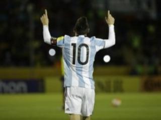 O genial Messi leva a Argentina para a Copa da Rússia. Sorte de quem ama esse tal futebol