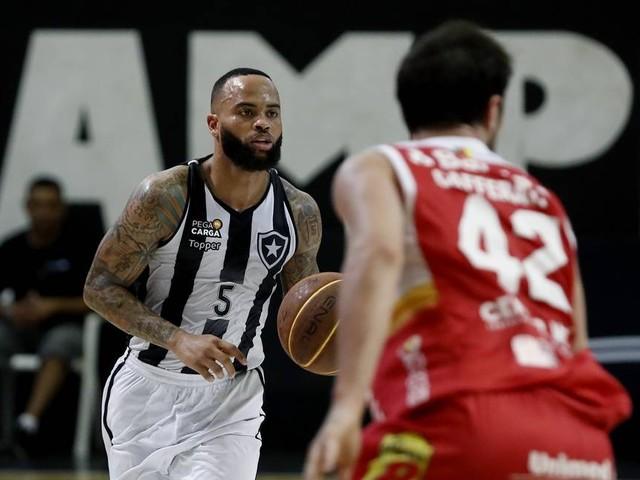 Botafogo visita o Pinheiros, hoje, em busca de nova vitória pelas quartas do NBB