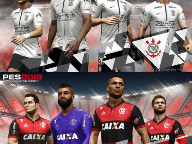 Entenda por que Balbuena, Diego Alves e Vinicius Jr não estão no PES 2018