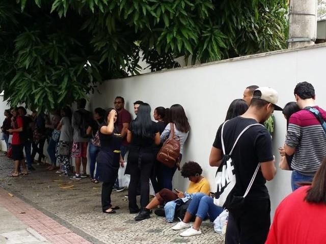 Confira a movimentação dos candidatos ao Enem 2018 nas ruas de Belo Horizonte