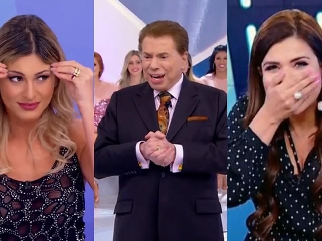 Silvio Santos não entende porque o público gosta de Lívia Andrade e não gosta de Mara Maravilha