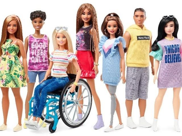 Linha Barbie Fashionistas 2019 traz bonecas inclusivas com deficiências físicas