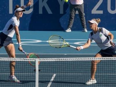 Bronze no tênis | Pigossi diz que parceria com Stefani não acaba nas Olimpíadas
