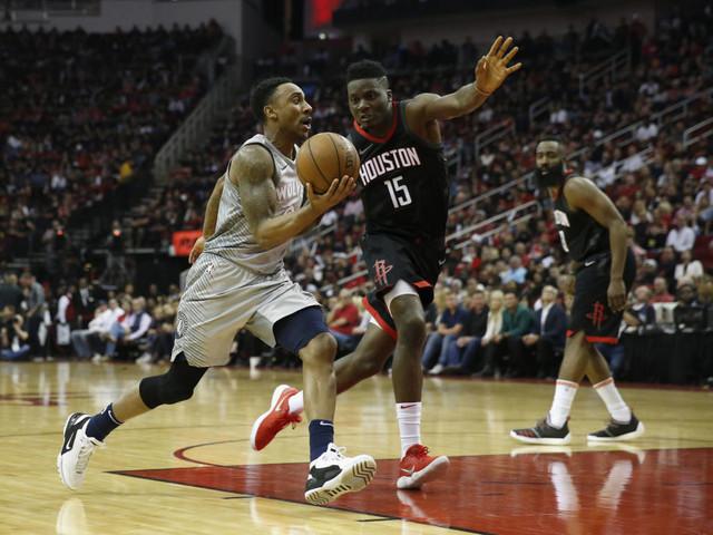 No sufoco, Rockets vencem os Timberwolves nos playoffs da NBA