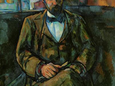 Cézanne retratando Vollard