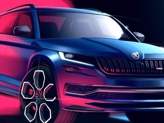 Škoda revela detalhes do interior do KODIAQ RS - SUV