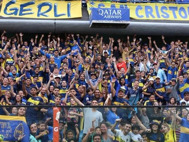 Torcida do Boca apoia o time em Buenos Aires