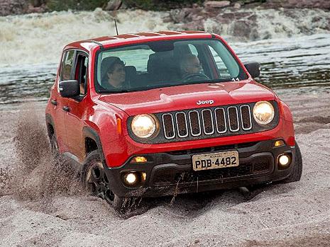 Fiat Chrysler faz recall de 89 mil Jeep Renegade por falha em freio de mão