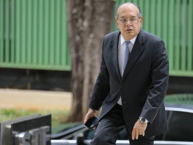 Fala de Eduardo Bolsonaro é imprópria e inadequada, diz Gilmar