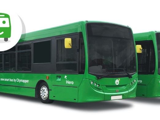 App cobre lacuna em transporte público lançando sua própria linha de ônibus