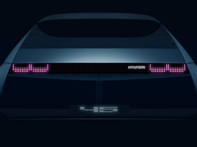 Hyundai『45: conceito antecipa futuro elétrico - Frankfurt