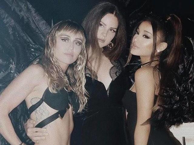 Ariana Grande, Miley Cyrus e Lana Del Rey lançam música tema de 'As Panteras'