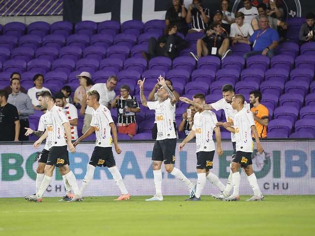 Luan brilha e Corinthians bate o New York City na estreia da Copa Flórida