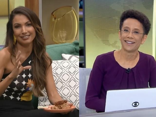 Patricia Poeta quebra surpreende e faz revelação sobre colega de profissão na Globo