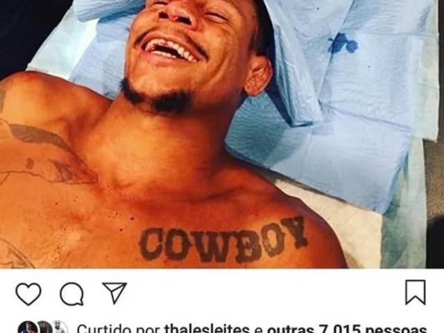 Alex Cowboy leva 30 pontos na testa após ser finalizado em duelo sangrento no UFC 231; veja e deixe sua opinião