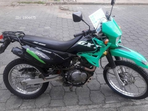 VENDO MOTO GENESIS GXT 200 ,ACEPTO CAMBIO Y COMPRO MOTOS