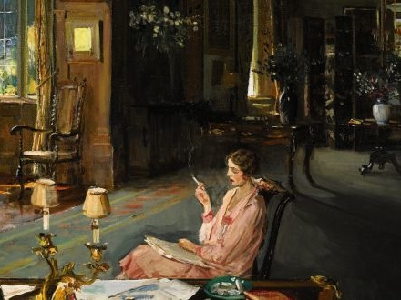 Imagem de leitura — Sir John Lavery