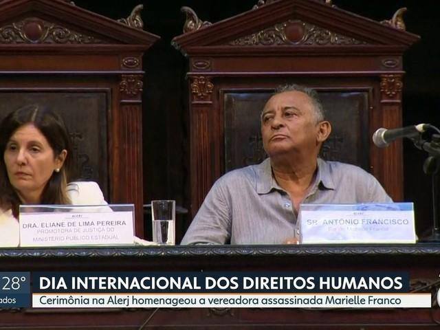 Marielle Franco é homenageada no Dia Internacional dos Direitos Humanos na Alerj