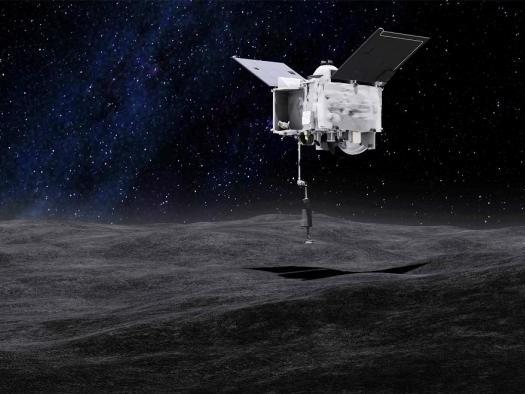 Saiba como assistir à sonda OSIRIS-REx coletando amostras do asteroide Bennu