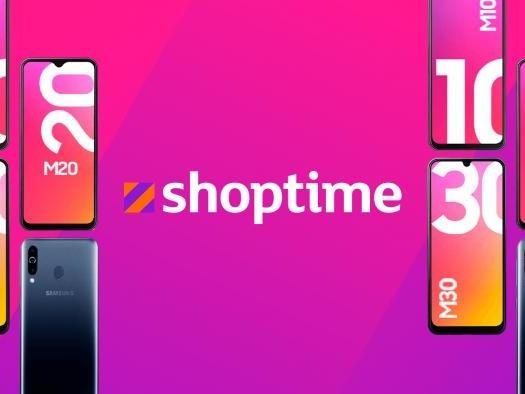 Compre agora os novos smartphones Galaxy M por a partir de R$ 899 no Shoptime