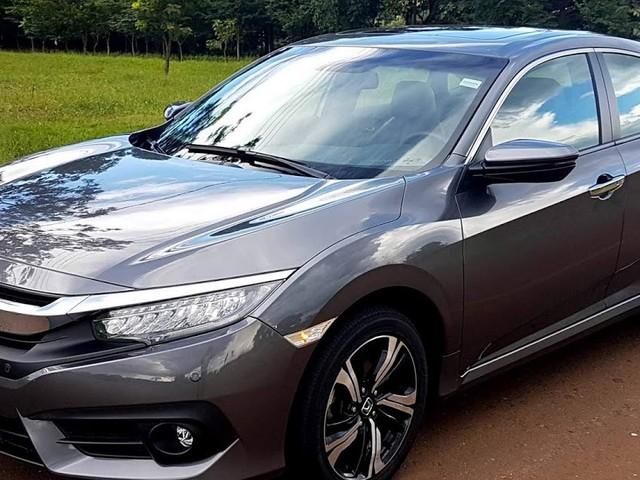 Honda Civic Touring 1.5 Turbo CVT 2017: teste drive - vídeo
