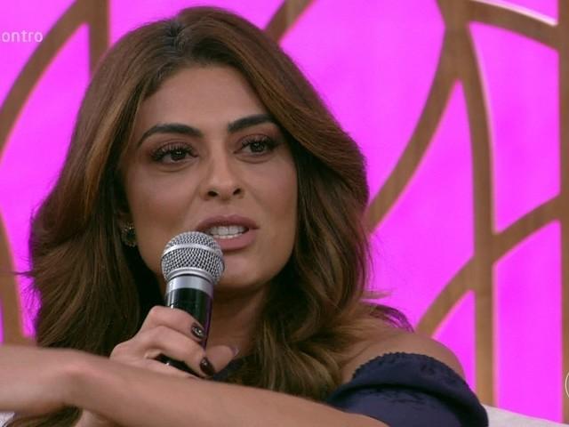 Juliana Paes fala pela primeira vez na TV sobre doença e afastamento do novo programa da Globo