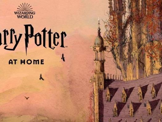 Harry Potter at Home | Plataforma traz conteúdo para período de isolamento