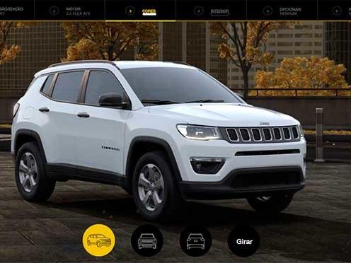 Jeep começa a cobrar R$ 700 pela pintura Branco Ambiente de Compass e Renegade