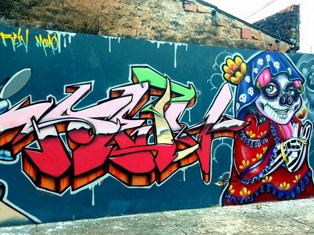 ACM Neto imita Doria: Lei prevê multa a grafiteiros