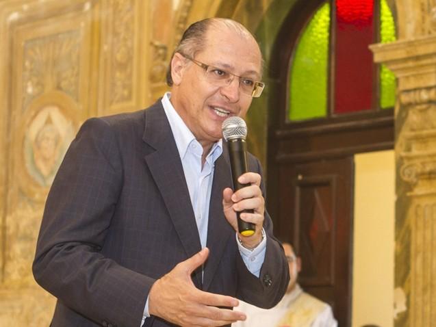 """Alckmin: """"Nós vamos enfrentar e derrotar o PT"""""""