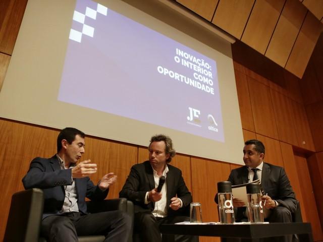 """Digitalização permite aproximar interior de """"novos investimentos"""", diz vice-presidente da IP Bragança"""