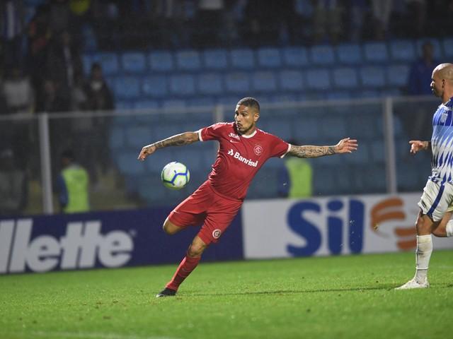 Sem marcar há seis jogos, Guerrero tem maior jejum de gols desde que chegou ao Internacional