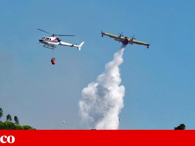 Força aérea começa a gerir meios aéreos de combate a fogos em Janeiro