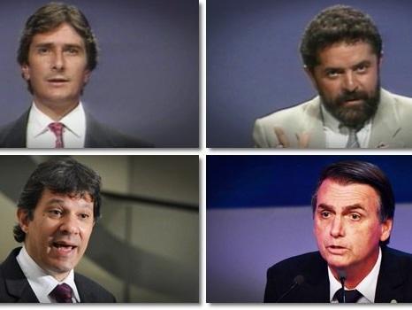 Semelhanças e diferenças entre as eleições de 1989 e 2018